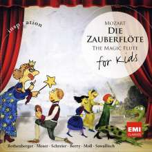 Mozart - Die Zauberflöte for Kids, CD