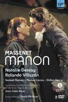 Jules Massenet (1842-1912): Manon, 2 DVDs
