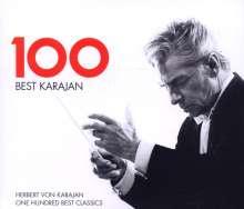 100 Best Karajan (EMI), 6 CDs