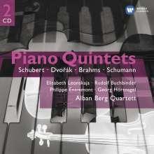 Alban Berg Quartett - Klavierquintette, 2 CDs