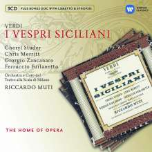 Giuseppe Verdi (1813-1901): I Vespri Siciliani, 3 CDs
