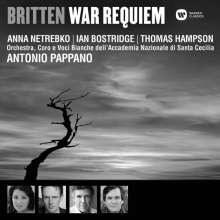 Benjamin Britten (1913-1976): War Requiem op.66, CD