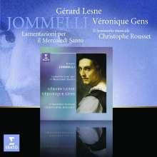 Niccolo Jommelli (1714-1774): Lamentazioni il Mercoledi Santo, CD