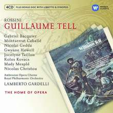 Gioacchino Rossini (1792-1868): Wilhelm Tell, 4 CDs