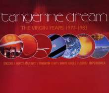 Tangerine Dream: The Virgin Years: 1977 - 1983, 5 CDs