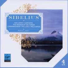 Jean Sibelius (1865-1957): Kullervo-Symphonie op.7, 4 CDs
