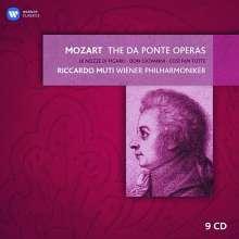 Riccardo Muti dirigiert Mozarts Da Ponte Opern, 9 CDs
