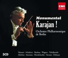 Herbert von Karajan - Monumental Karajan!, 3 CDs