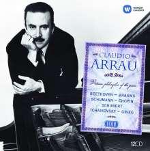 Claudio Arrau - Virtuoso Philosopher (Icon Series), 12 CDs