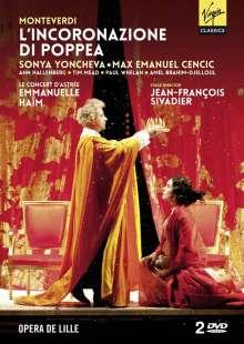 Claudio Monteverdi (1567-1643): L'incoronazione di Poppea, 2 DVDs