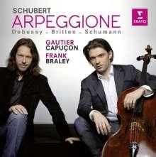 Franz Schubert (1797-1828): Arpeggione - Sonate D.821, CD