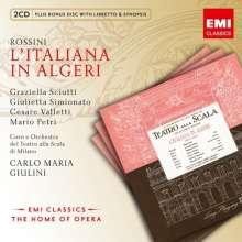 Gioacchino Rossini (1792-1868): L'Italiana in Algeri, 2 CDs