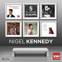 Nigel Kennedy - 5 Classic Albums, 5 CDs