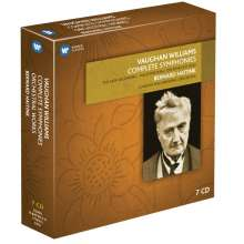 Ralph Vaughan Williams (1872-1958): Symphonien Nr.1-9, 7 CDs