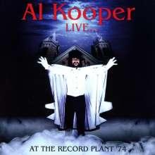 Al Kooper: Live ... At The Record Plant '74, CD