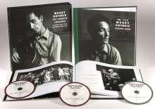 Woody Guthrie: The Tribute Concerts (Box-Set), 3 CDs und 2 Bücher