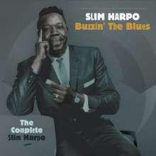 Slim Harpo: Buzzin' The Blues: The Complete Slim Harpo Box, 5 CDs