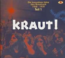 KRAUT ! - Die innovativen Jahre des Krautrock 1968 - 1979 - Teil 1, 2 CDs