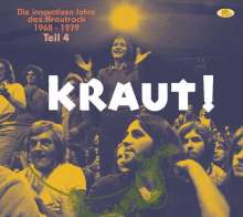 KRAUT! Teil 4 - Die innovativen Jahre des Krautrock 1968 - 1979, 2 CDs