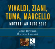 James Bowman - Motetti Ad Alto Solo, CD