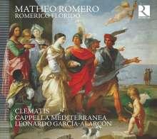 """Matheo Romero (1575-1647): Werke """"Romerico Florido"""", CD"""
