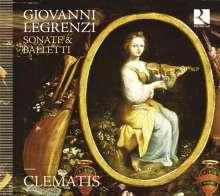 Giovanni Legrenzi (1626-1690): Sonate e Balletti, CD