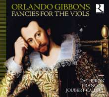 Orlando Gibbons (1583-1625): Fancies for the Viols, CD