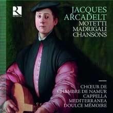 Jacob (Jacques) Arcadelt (1507-1568): Motetten / Madrigale / Chansons, 3 CDs