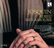 """Josquin Desprez (1440-1521): Chansons - """"Adieu mes Amours"""", CD"""