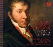 Wolfgang Amadeus Mozart (1756-1791): Klavierkonzert Nr.24 c-moll KV 491 (in der Kammerversion von Hummel), CD