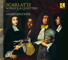 Alessandro Scarlatti (1660-1725): Sonate a quattro (senza Cembalo), CD