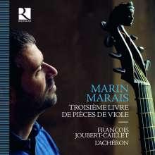 Marin Marais (1656-1728): Pieces de Viole Buch 3 (1711), 4 CDs