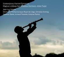 Contemporary Clarinet Concertos, CD