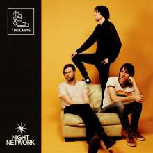 The Cribs: Night Network (Limited Edition) (Translucent Blue Vinyl), LP