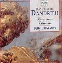 Jean Francois Dandrieu (1682-1738): Pieces de Clavecin (aus dem 1.-3.Buch), CD