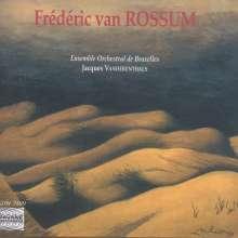 Frederik van Rossum (geb. 1939): Divertimento für Streichorchester op.15, CD