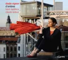 Elodie Vignon - D'Ombres, CD