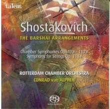 Dmitri Schostakowitsch (1906-1975): Kammersymphonien opp.49a,110a,118a, Super Audio CD