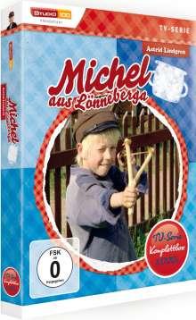 Michel aus Lönneberga (Gesamtausgabe der TV-Serie), 3 DVDs