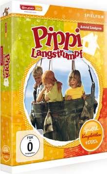 Pippi Langstrumpf - Die vier Spielfilme, 4 DVDs