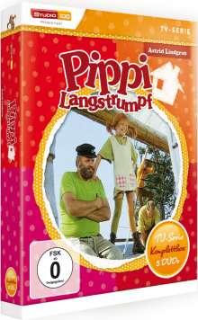 Pippi Langstrumpf (Komplette TV-Serie), 5 DVDs