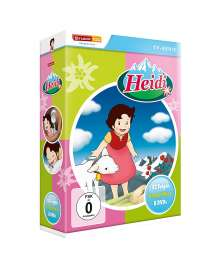 Heidi (Komplettbox), 8 DVDs