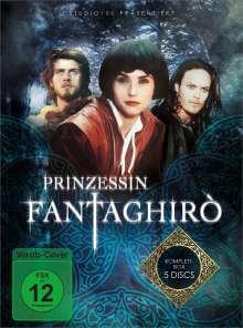 Prinzessin Fantaghirò, 5 DVDs