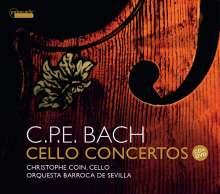 Carl Philipp Emanuel Bach (1714-1788): Cellokonzerte Wq.170-172, 1 CD und 1 DVD