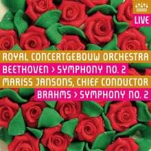 Johannes Brahms (1833-1897): Symphonie Nr.2, Super Audio CD