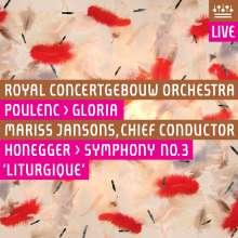 """Arthur Honegger (1892-1955): Symphonie Nr.3 """"Liturgique"""", Super Audio CD"""