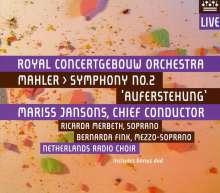 Gustav Mahler (1860-1911): Symphonie Nr.2, 2 Super Audio CDs und 1 DVD