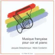 Musique francaise pour cor et piano, CD