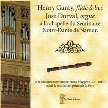 Henri Ganty & Jose Dorval a la chapelle du Seminaire Notre-Dame de Namur, CD