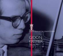 Gidon Kremer - Queen Elisabeth Competition Violin 1967, CD